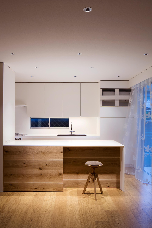 キッチン|武庫之荘の家|一級建築士事務所エヌアールエム