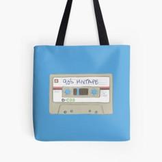 90's MixTape Tote Bag