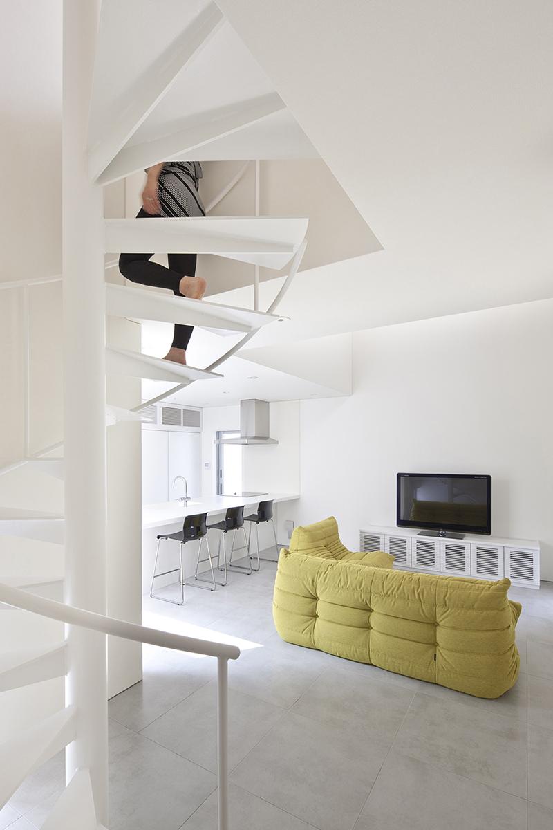 堺の家2|旗状敷地|一級建築士事務所エヌアールエム|建築家|大阪