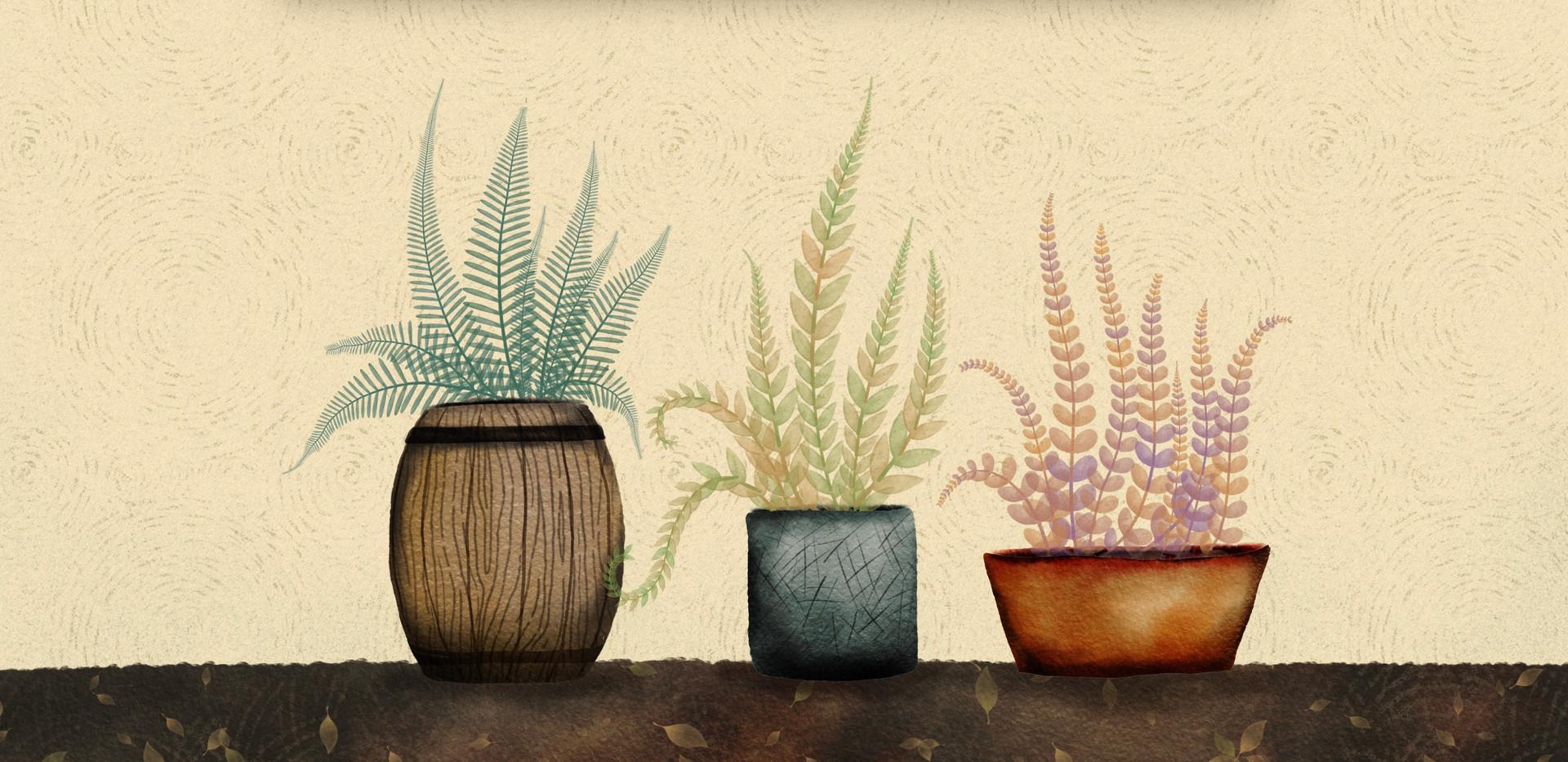 Linushka's Plant brushes for procreate