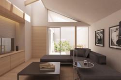 清水谷の二世帯住宅|大阪の建築設計事務所|一級建築士事務所エヌアールエム