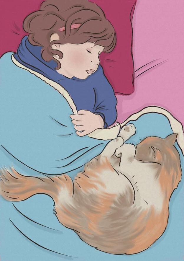 Illustration of Maya & Mia