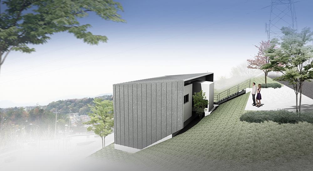 阪急宝塚山手台の家
