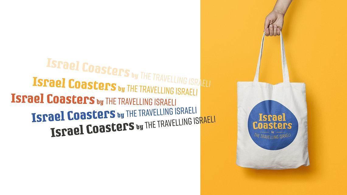 Israel Coasters Tote bag