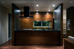 キッチン|芦屋奥池の家|一級建築士事務所エヌアールエム