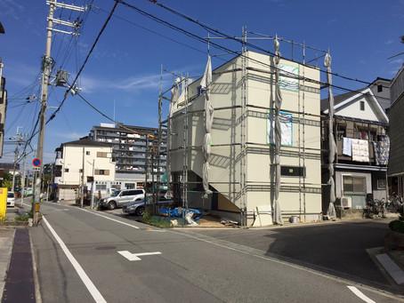堺の家5~下地工事終了