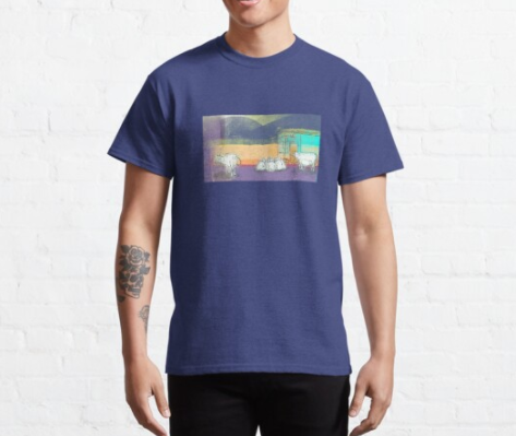 Cows in Ram Jhula T-Shirt