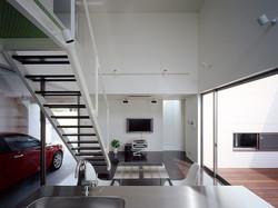 白庭台の家|一級建築士事務所エヌアールエム|建築家|奈良|ガレージハウス