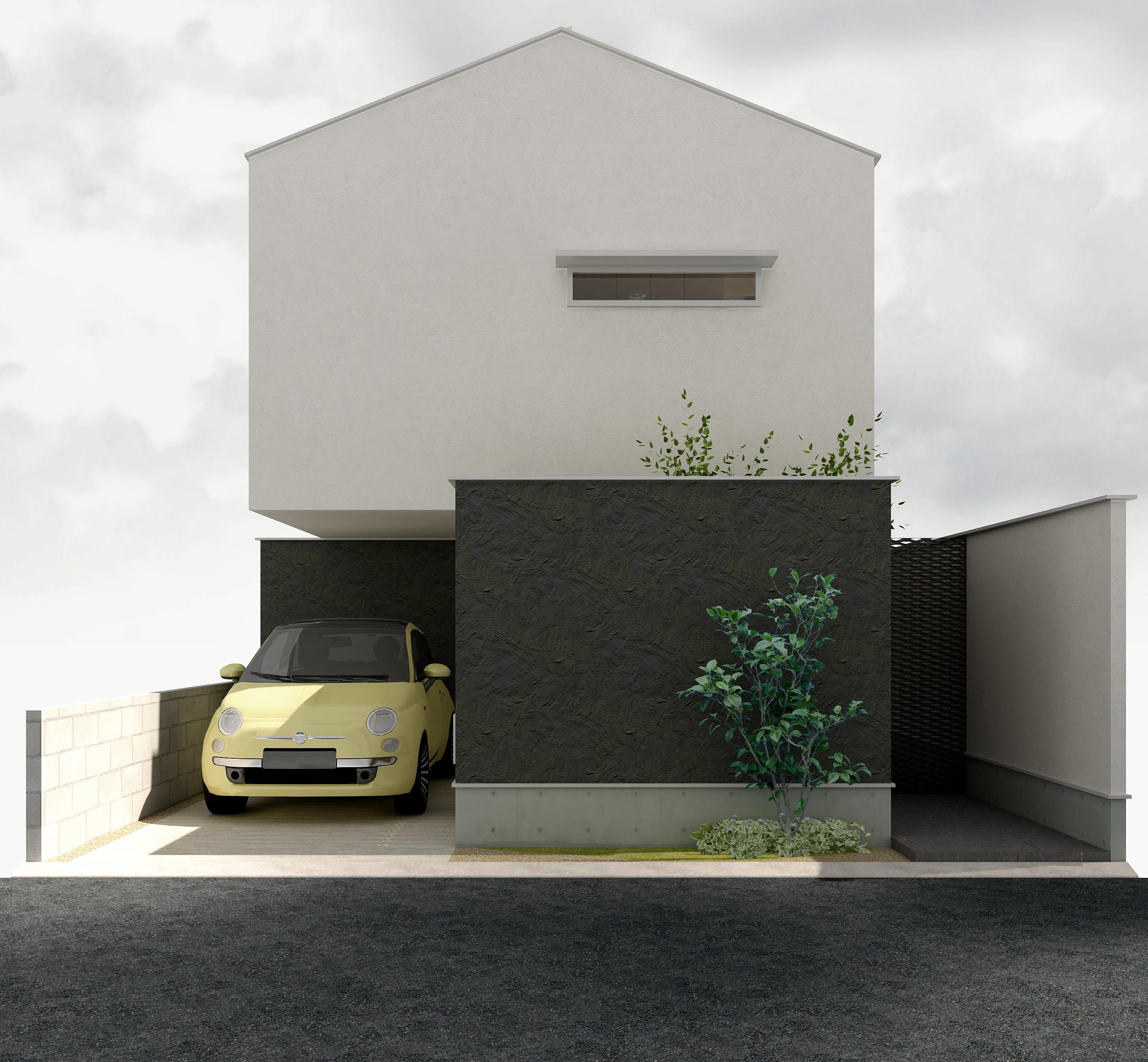 清水谷の二世帯住宅