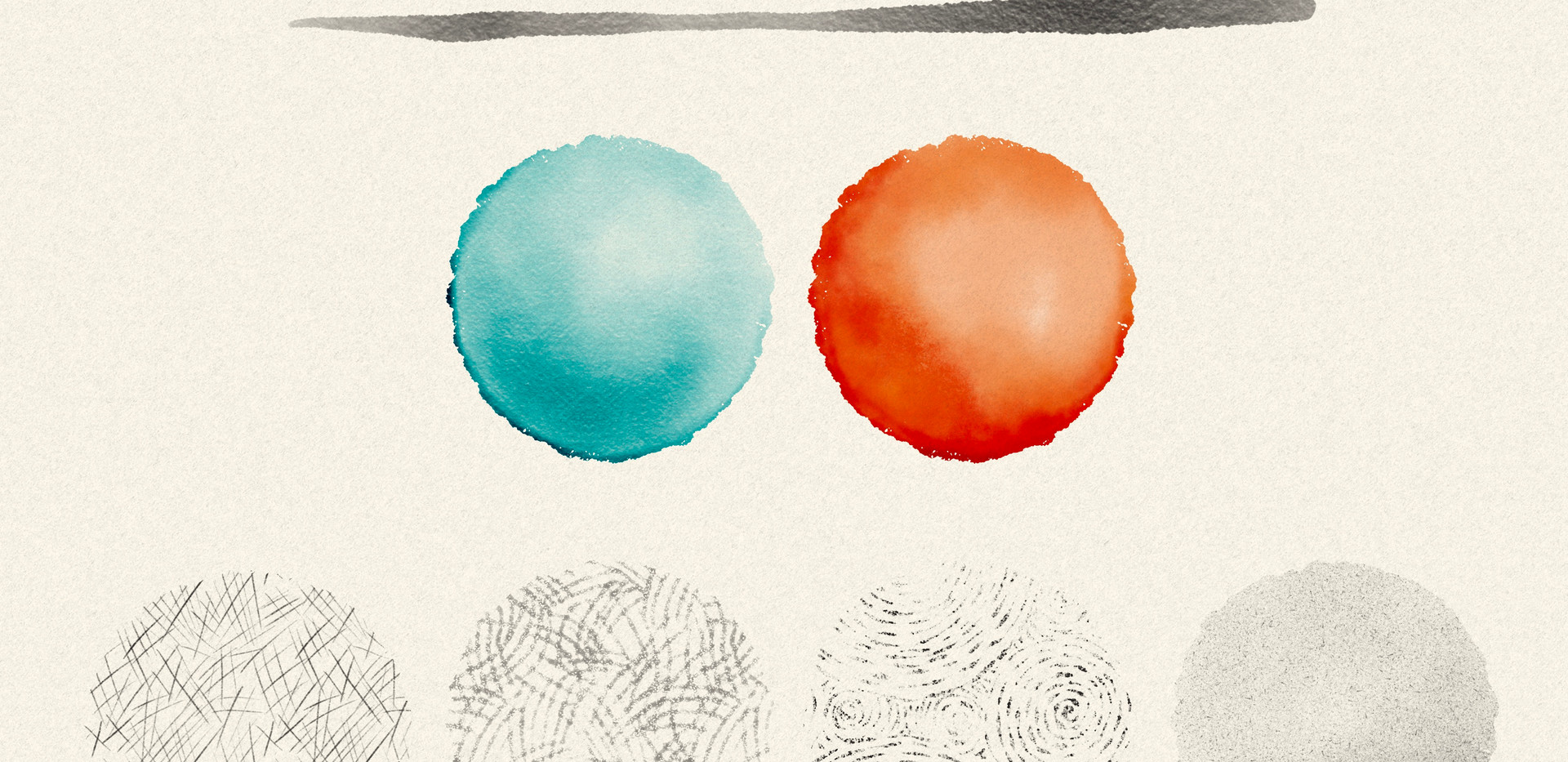 Texture and Fill brushes for Procreate