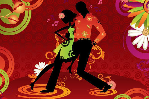 Five Salsa or Bachata Private Lessons for one