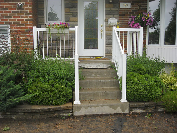 concrete stairs repair Montreal