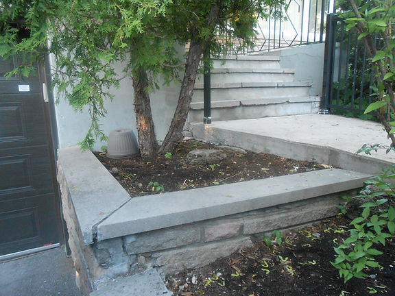 Concrete Stairs Resurface Montreal