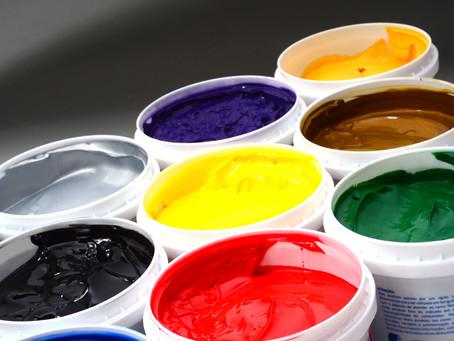 Qual a forma correta de armazenar as tintas Colordex?