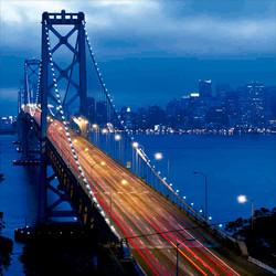 Quadros E2G Design ponte iluminada