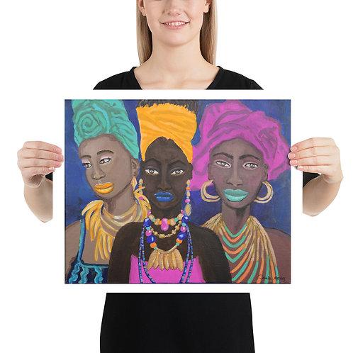 MOD AFRICA   matte print