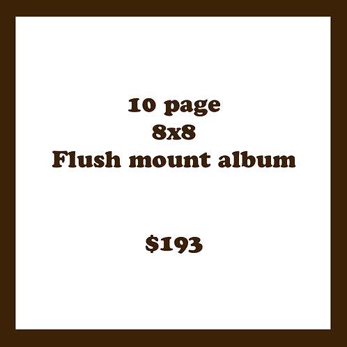 10 PG 8X8 FLUSH MOUNT