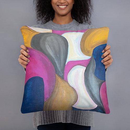 "MERGE 18x18"" Basic Pillow"
