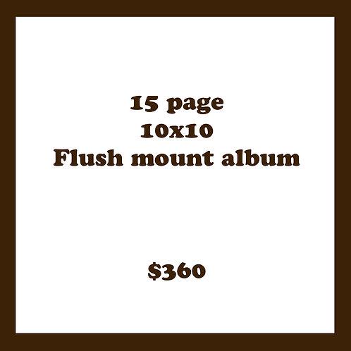 15 PG 10X10 FLUSH MOUNT