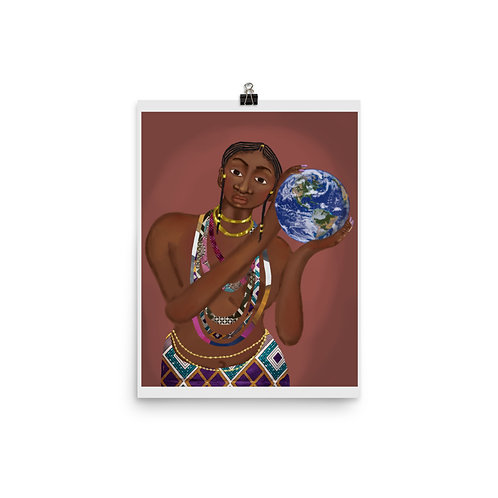 """""""The World is Yours""""  Print"""