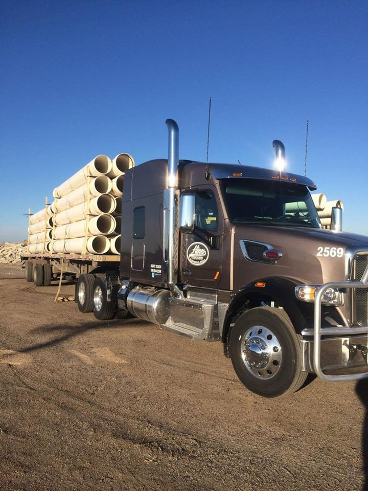 Fullscreen Page | Hinz Trucking Inc  | Flatbed Trucking Company