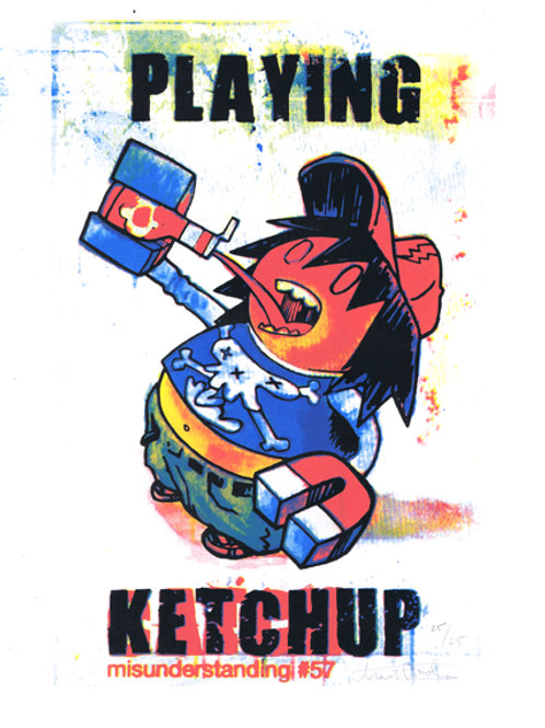 Playing Ketchup