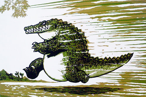 You Can't Stop A Hungry Croc v.2