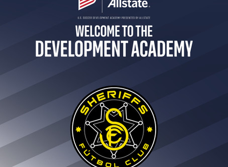 U.S. Soccer Development Academy Welcomes Sheriffs FC
