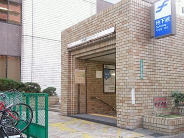 天神センターへの道順(地下鉄赤坂駅編)