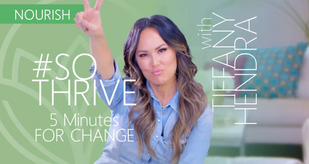 """5 Minutes for Change + Tiff's """"Lit Up"""" Smoothie Recipe"""