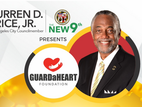 LA City Councilmember Curren Price Presents GUARDaHEART Foundation No Cost COVID-19 Antibody Testing