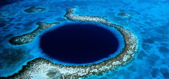 Blue Hole Dive