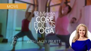Core-Focused Yoga (12 mins)