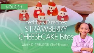 Kid-Recipe: Strawberry Cheesecake Bites