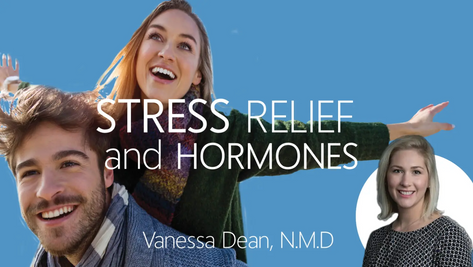 Stress Relief from Balanced Hormones?!