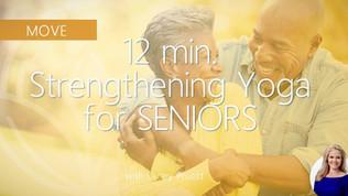 12-Min Chair Yoga for Seniors: Strength + Length