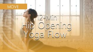 Quick Hip-Opening Yoga Flow