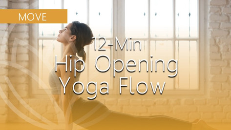 Quick Hip-Opening Yoga Flow