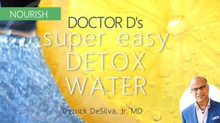 Easy Detox Water Recipe: Only 3 Ingredients