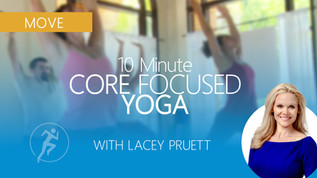 10-Min Core Focused Yoga Workout