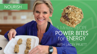 5-Minute Recipe: NO COOK POWER BITES!