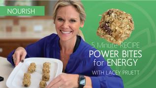 5-Minute Recipe: NO COOK POWER BITES!