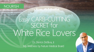RICE LOVERS Rejoice! Easy Carb-Cutting Trick