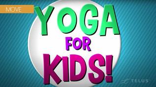 FUN Yoga Video for KIDS! 25-min