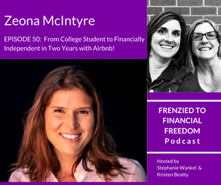 From College Student to Financially Independent in Two Years with Airbnb!  Zeona McIntyre