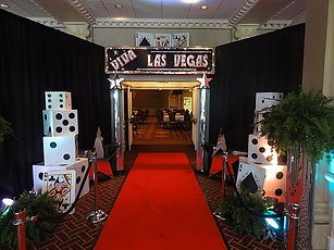 Casino decor rentals in nashville