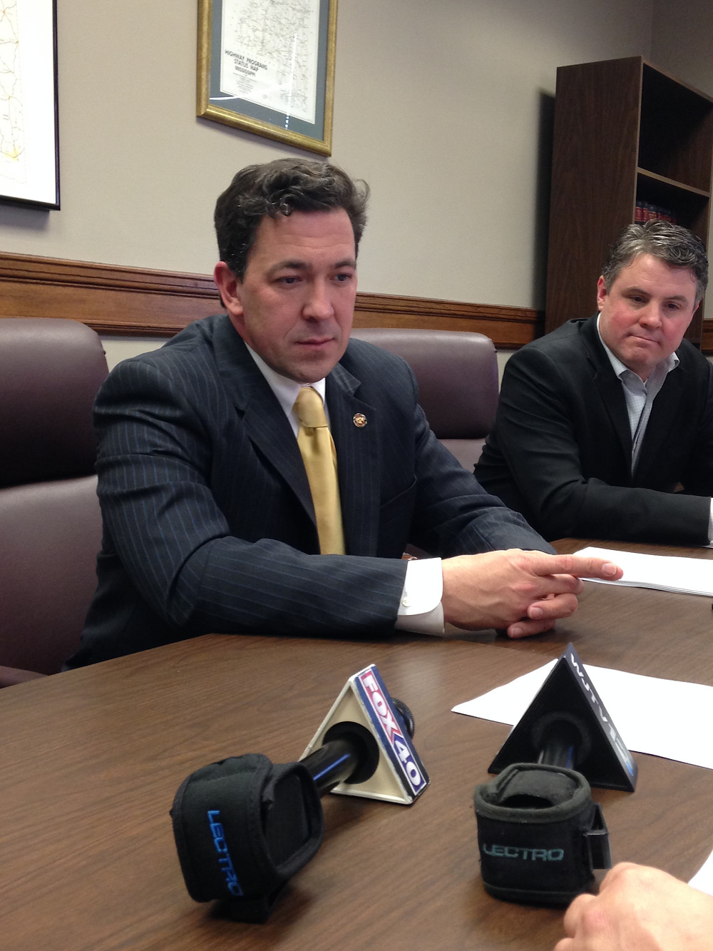 "CHOICE: State Sen. Chris McDaniel could choose to continue running against U.S. Sen. Roger Wicker or throw his hat in the ring for November's ""jungle"" primary against whoever Gov. Phil Bryant appoints. Photo by Steve Wilson"