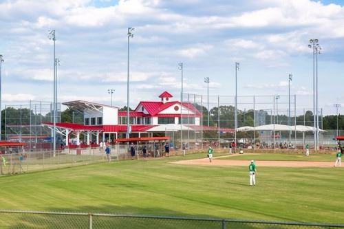 BALLFIELD: Southaven's Snowden Grove Park's ballfield complex hosts the Dizzy Dean World Series every year. Photo by the city of Southaven