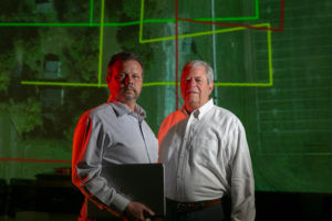STARTUP: Mississippi entrepreneurs Scott Dow, left, and Brent Melton were sued by the Mississippi Board of Licensure for Professional Engineers and Surveyors for 'illegal surveying.' Photo by the Institute for Justice