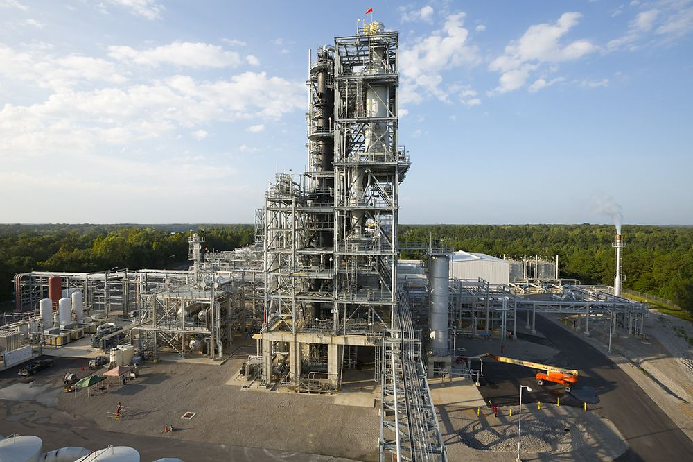 GOLD INTO STRAW: KiOR promised to turn wood pulp into gasoline and diesel fuel, but its plant in Columbus closed after never meeting its production targets. Photo by KiOR